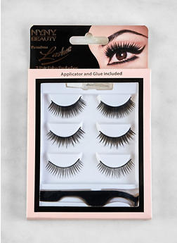 3 Pair False Eyelashes - 1127072600111