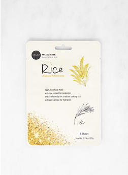 Whitening and Moisturizing Rice Sheet Mask - 1127073600190