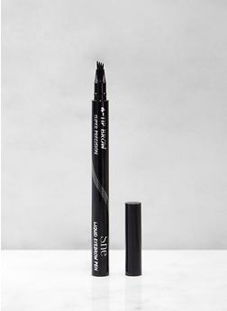 Black 4 Tip Precision Liquid Eyebrow Pen - 1127075890050