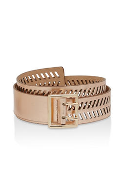 Laser Cut Chevron Belt - 1128073331258