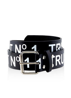 Trust No 1 Graphic Belt - 1128074395824