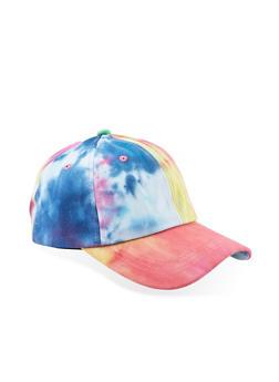Tie Dye Baseball Cap - 1129067440505