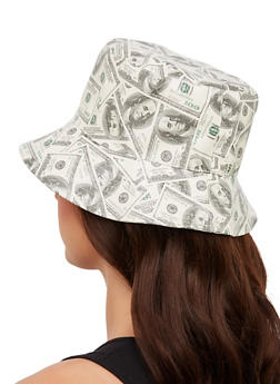 Money Print Bucket Hat - 1129067441129