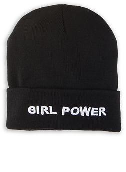 Girl Power Beanie - 1129067441334
