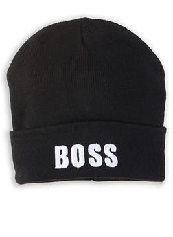 Boss Graphic Beanie - 1129067441366