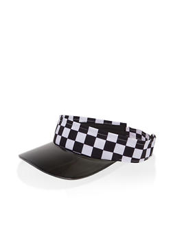 Checkered Visor - 1129067442550