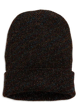 Ribbed Knit Beanie - 1129067444814