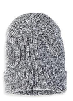 Ribbed Knit Beanie - 1129067444814