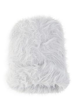 Faux Fur Beanie - 1129067444816