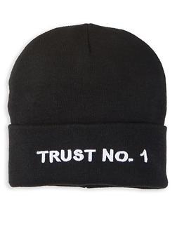 Trust No1 Beanie - 1129067448889