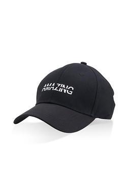 Amazing Embroidered Baseball Cap - 1129074392882