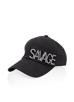 Savage Studded Baseball Cap - 1129074393571
