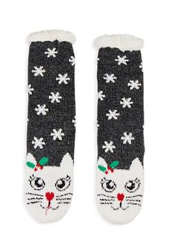 Holiday Knit Slipper Socks - 1130055321003