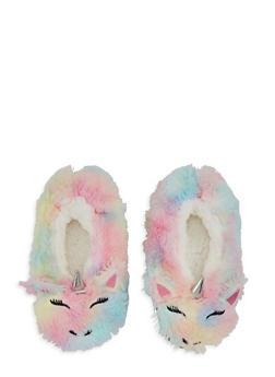 Multi Color Unicorn Slippers - 1130055322030