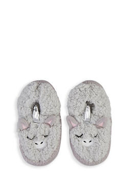 Critter Sherpa Slippers - 1130055323891