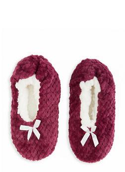 Fuzzy Slippers - 1130055324445