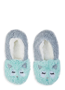 Fuzzy Animal Slippers - 1130055325777