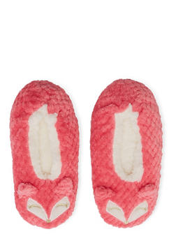 Animal Slippers - CORAL - 1130055329987