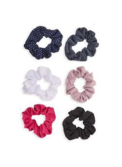 Set of 6 Scrunchies - 1131057691689
