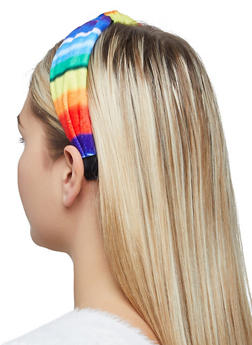 Tie Dye Knotted Headband - 1131062812134