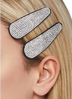 Rhinestone Hair Clips - 1131062812771
