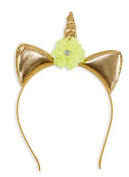 Flower Unicorn Headband - 1131063091145
