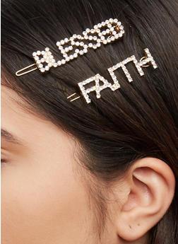 Blessed Faith Hair Clips - 1131063091892