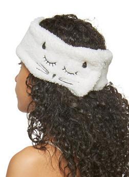 Soft Sleeping Cat Headband - 1131063092515