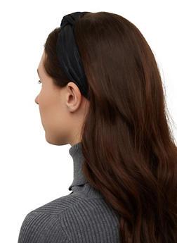 Knotted Lurex Headband - 1131065192761