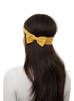 Set of 2 Bow Head Wraps - 1131067251712
