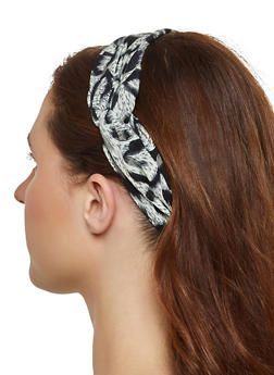 Animal Print Head Wrap - 1131071210350