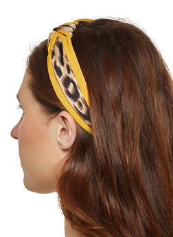 Leopard Knotted Headband - 1131071210481