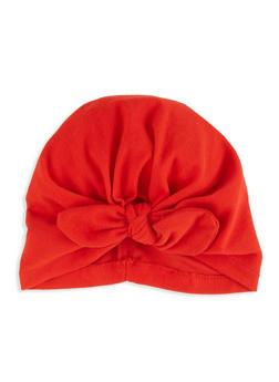 Tie Front Turban Headwrap - 1131074171313