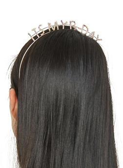 Rhinestone Its My Birthday Headband - 1131074171510