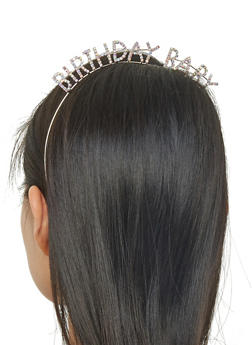 Rhinestone Birthday Baby Headband - 1131074171511
