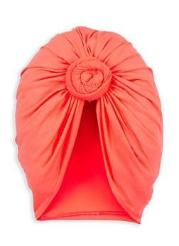 Neon Twist Front Turban Head Wrap - 1131074174131