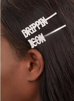 Drippin Icon Bobby Pins - 1131075955555