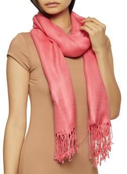 Pink Pashmina Scarf - 1132051441819