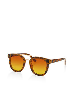 Top Bar Square Sunglasses - 1133004260010
