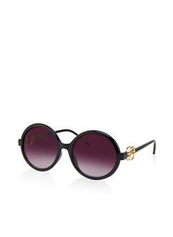 Round Plastic Sunglasses - 1133004260089