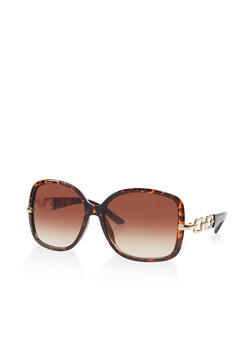 Cut Out Side Sunglasses - 1133056176312