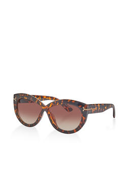 Plastic Criss Cross Sunglasses - 1133073219200