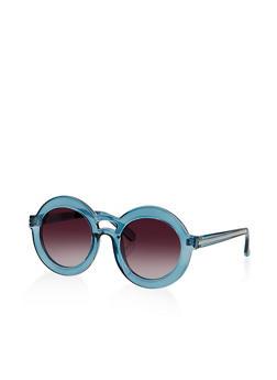 Round Plastic Sunglasses | 1134004260455 - 1134004260455