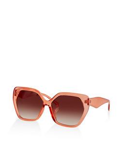 Large Geometric Sunglasses   1134004260527 - 1134004260527