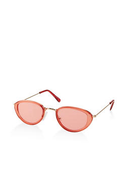 Small Oval Colored Sunglasses - 1134004260962