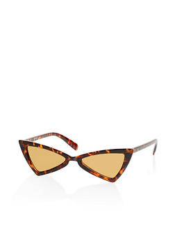 Small Geometric Mirrored Sunglasses - 1134056176288