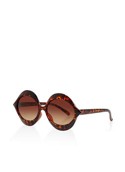 Plastic Oval Sunglasses - 1134056176604