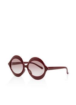 Plastic Oval Sunglasses - 1134056176604