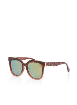 Mirrored Cat Eye Sunglasses - 1134056179953
