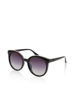 Round Plastic Sunglasses - 1134071212525